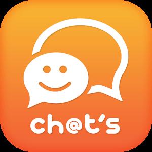 チャッツ-近所で出会い~恋活婚活マッチング!人気の無料SNSのロゴ