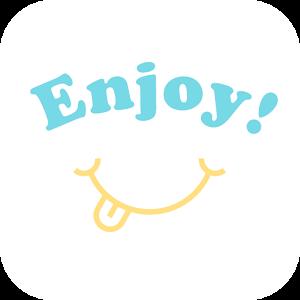 無料登録の友達作りトークは「ひまチャットアプリEnjoy!」のロゴ