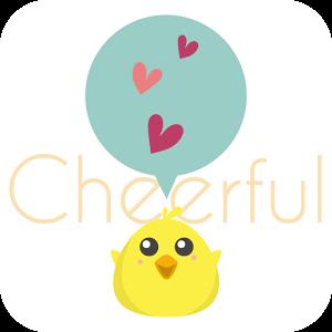 友達探し&恋活の出会系チアフル 登録無料チャットトークアプリのロゴ