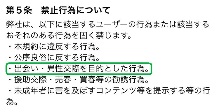 大人の出会いは【夜トモ専用】ドキドキチャット!の利用規約