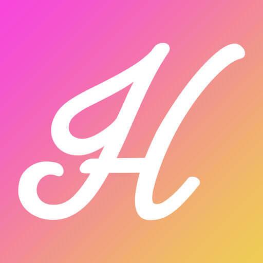 出会い系アプリは出会い系ハピチャで出会い探しのロゴ