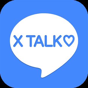 X Talk-登録無料のマッチングアプリで友達探しのロゴ