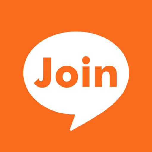 おとな専用 運命の出会い・恋チャット「Join me」ロゴ