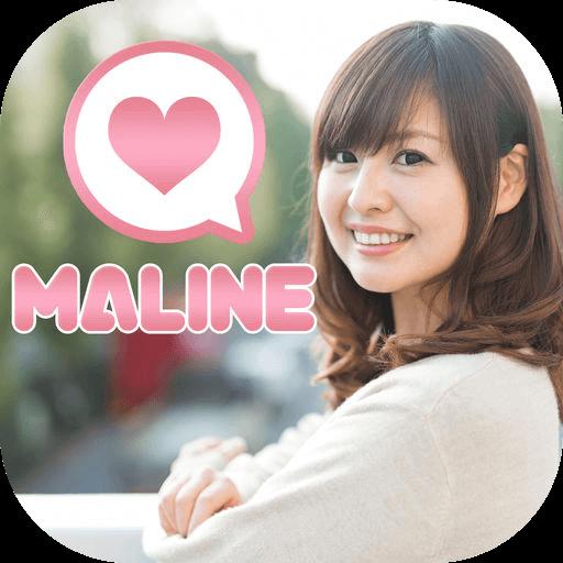 MALINE - 安心安全の出会い・恋活マッチングアプリのロゴ