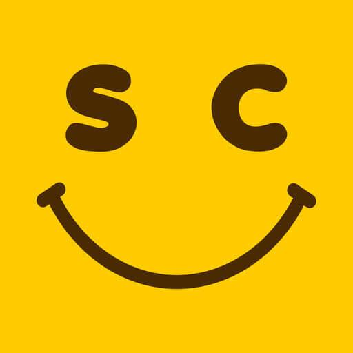 【スマチャ】Happyな出会いが探せるSNSチャットアプリ!ロゴ