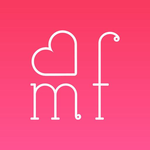ミルフィーユ-ご近所掲示板でチャット友達を探す出会いアプリでロゴ