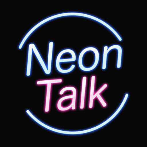 出会い-大人ひまトークアプリNeon-Talk恋活婚活SNSのロゴ