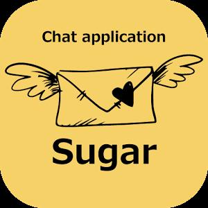 出会系ご近所さん探しアプリのシュガー 出会いチャット登録無料ロゴ