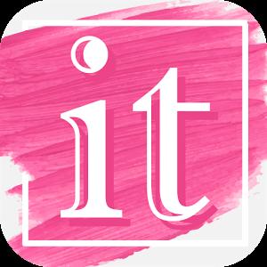 ソーシャルネットワーキングのIt【イット】ロゴ