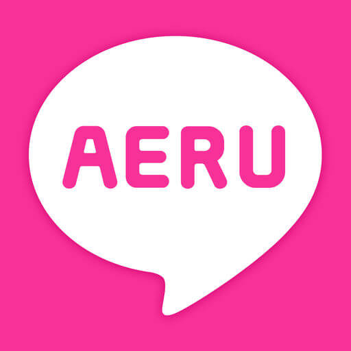 出会い - 人気の出会い系はAERUで大人の出会いロゴ