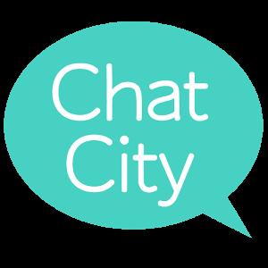 友達作りメッセージアプリ チャットシティロゴ