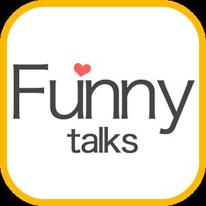 無料登録の出会系アプリ「Funnytalks」で友達探しロゴ