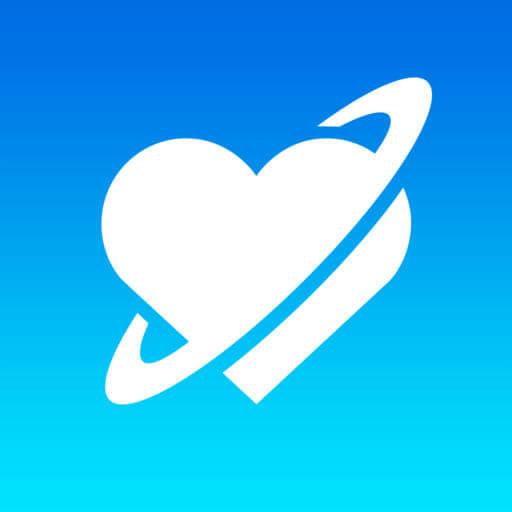 出会い系「 ラブプラネット 」 ロゴ