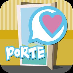 恋活チャットトークは出会系ポルテ 人気の友達探しアプリロゴ
