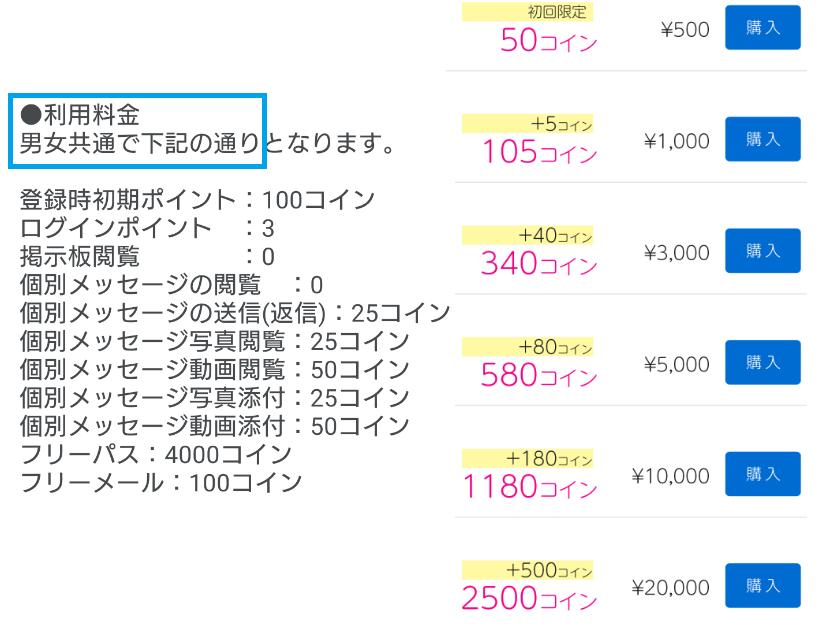 悪質アプリ「ぴったんこ」の料金
